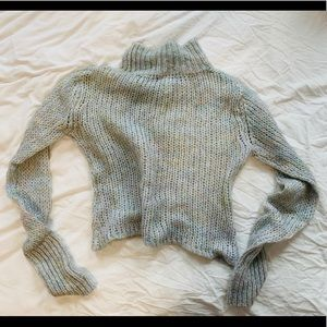 Free People cozy mohair blend turtleneck sweater